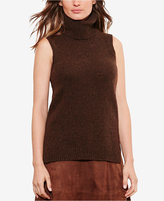 Lauren Ralph Lauren Sleeveless Turtleneck Sweater