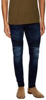 Balmain Ribbed Cotton Slim Fit Jeans
