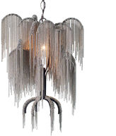 Canopy Designs Petite Willow Chandelier, Gray