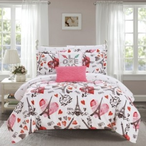 Chic Home Le Marias 7 Piece Twin Bed In a Bag Comforter Set Bedding
