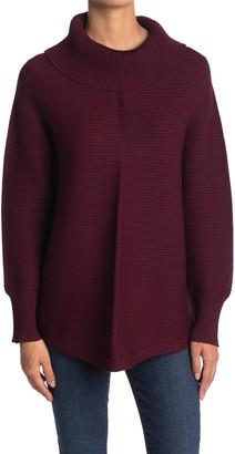 Cyrus Ottoman Rib Knit Turtleneck Sweater