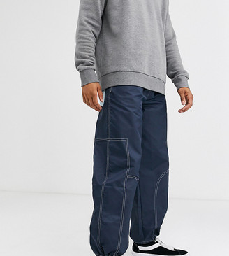 Noak nylon cargo pant with pullers