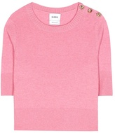 Barrie Cashmere cropped top