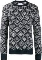 Dondup geometric pattern jumper