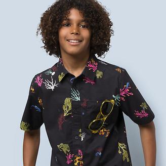 Vans Boys Reality Coral Buttondown Shirt