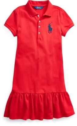 Ralph Lauren Stretch Mesh Polo Dress