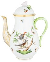 Herend Rothschild Bird Coffee Pot