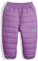 The North Face Infant Girl's Perrito Reversible Water Repellent Insulated Snow Pants