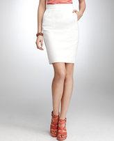 Cotton/Linen Pencil Skirt