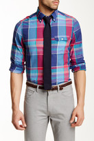 Gant L. Wilshire Madras Check Long Sleeve Fitted Shirt