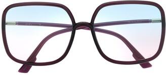 Christian Dior SoStellaire1 oversized sunglasses