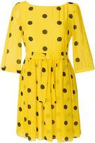 Moschino polka dot dress - women - Silk/Polyester - 40