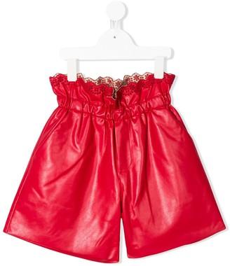 Philosophy Di Lorenzo Serafini Kids Paperbag Shorts