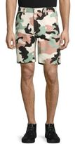 Wesc Rai Printed Cotton Shorts