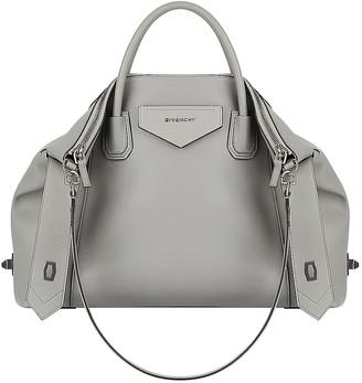 Givenchy Medium Soft Antigona Bag in Pearl Grey | FWRD