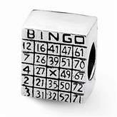 Reflections Sterling Silver Bingo Card Bead