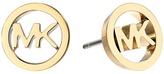 Michael Kors Logo Tone Stud Earrings Earring