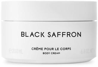 Byredo Black Saffron Body Cream