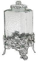 Arthur Court Magnolia Hammered Glass & Metal Drink Dispenser