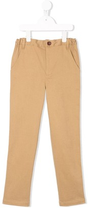 Familiar Chino Style Trousers