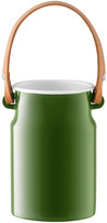 LSA International Utility Utensil Pot & Leather Handle - Sage Green