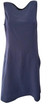 Ralph Lauren Blue Wool Dresses