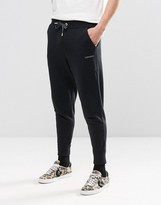 Converse Joggers With Reflective Logo In Black 10002802-a02