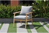 Darrah Deep Seating Teak Patio Chair with Cushions Brayden Studio