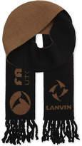 Lanvin Jacquard Slim Scarf
