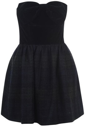 Jack Wills Cawood Bow Strapless Dress