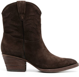Ash Freedom suede Western boots