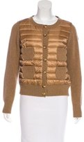 Moncler Wool Quilted Jacket