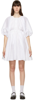Cecilie Bahnsen White Ava Dress