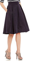 Eliza J Flared Midi Skirt