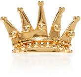 Alison Lou Queen 14K Gold Single Earring