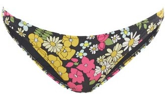 Issimo X Solid & Striped - The Rachel Floral-print Bikini Briefs - Multi