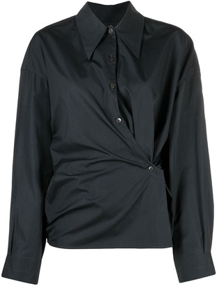 Lemaire Twisted Long Sleeve Shirt