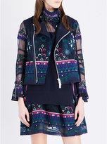 Sacai Embroidered jacket