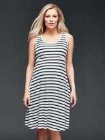 Gap Stripe empire waist tank dress