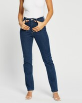 Thumbnail for your product : Neuw Women's Blue Straight - Marilyn Straight Jeans - Size 27 at The Iconic