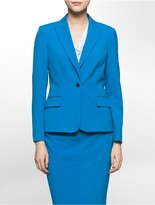 Calvin Klein One Button Suit Jacket