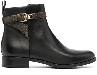MICHAEL Michael Kors Fanning buckled ankle boots