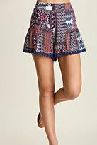 Umgee USA Printed Tassel Shorts