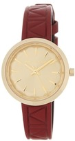 Karl Lagerfeld Women's Belleville Leather Watch