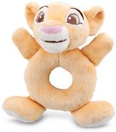 Disney Simba Plush Rattle for Baby