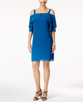Thalia Sodi Cold-Shoulder Shift Dress, Created for Macy's
