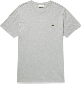 Lacoste Slim-Fit Logo-Appliqued Cotton-Jersey T-Shirt