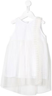 Douuod Kids Tulle Panelled Dress