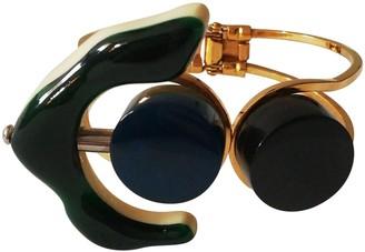 Marni Blue Horn Bracelets