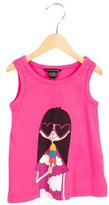 Little Marc Jacobs Girls' Sleeveless Printed Top